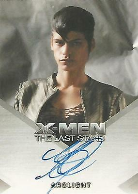 """X-Men 3 The Last Stand - Omahyra """"Arclight"""" Autograph Card"""