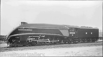 LNER CLASS A4 4-6-2 LOCO 4494 ANDREW K MCCOSH 8x4 BR OFFICIAL PHOTO
