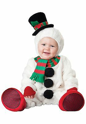 Baby Luxury Toddler Silly Snowman Fancy Dress Christmas Costume 0-24 Months