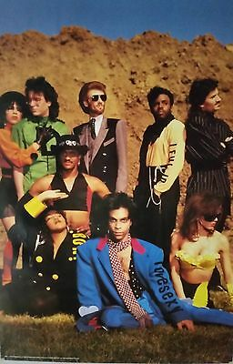 Prince -  with Band Love Sexy Original POSTER