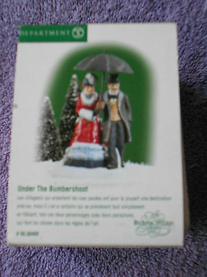 DEPT 56 DICKENS' VILLAGE Accessory UNDER THE BUMBERSHOOT NIB
