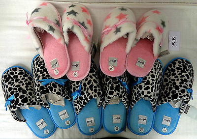 Wholesale Assortment Of Jyoti Ladies Slippers Various Sizes 5 Pairs (Ref:5066)