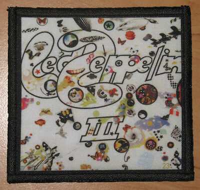 "LED ZEPPELIN ""III"" silk screen PATCH"