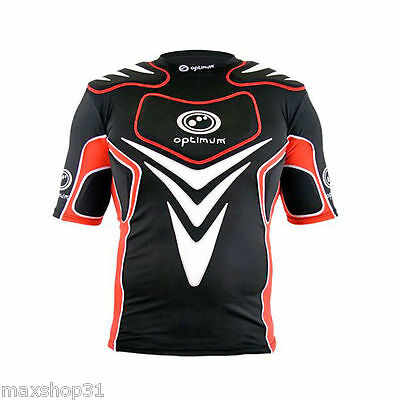 Protection Rugby Optitum Blitz Protective Taille L Baselayer/epauliere  Neuf