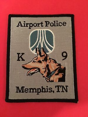 Memphis Tennessee Airport Police K-9 Unit Shoulder Patch