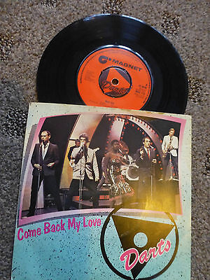 """Darts Come Back My Love   7"""" Single 1977 Magnet MAG 110"""