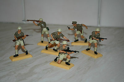 DSG set of Britains Deetail WW2 British 8th Army.