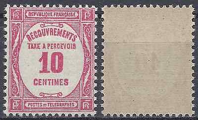 France Timbre Taxe N°56 Neuf ** Luxe Gomme D'origine Mnh