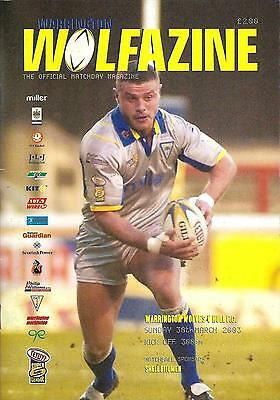 Warrington v Hull - Super League - 2003