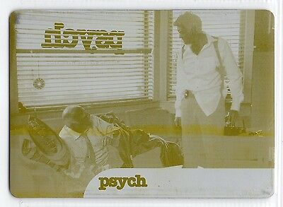 Psych Seasons 5-8 (Cryptozic 2015) Yellow Print Plate Trading Card Insert #27