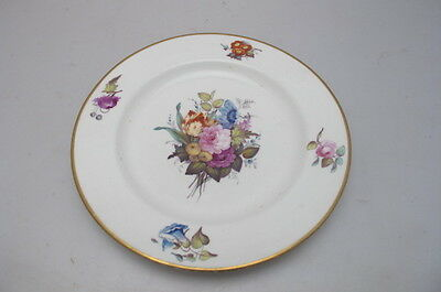 Antique Crown Derby Cabinet Plate Handpainted