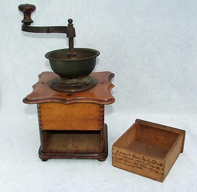 Ww1 Great War Relic From Ruins Of Madame David's House Ostend Coffee Grinder