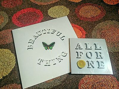 """Stone Roses Beautiful Thing Limited Edition 12"""" & All for One 7 single.BOTH MINT"""