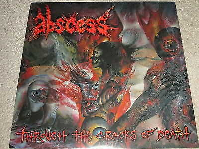 Abscess - Through The Cracks Of Death - New - Lp Record
