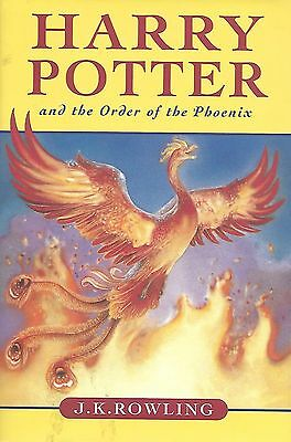 Harry Potter. Order Of The Phoenix.Near Mint Condition. 1St.Canadian Edition. DJ
