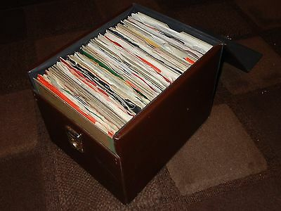 """1970's RECORD COLLECTION 100 X 7"""" SINGLES IN FLIGHT CASE"""