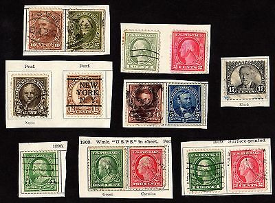 Stamps ~ UNITED STATES OF AMERICA USA Selection PORTRAITS ~ Early Classic