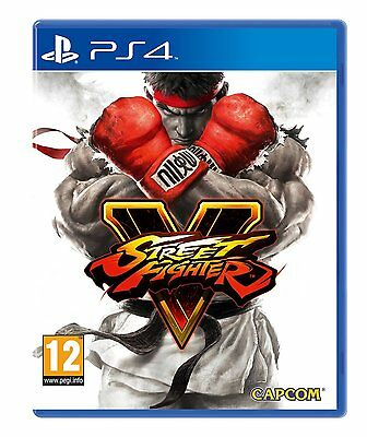 Street Fighter 5 (Sony PS4) - Steelbook Édition Limitée - Neuf