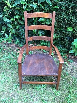 Antique Vintage Lovely solid little wooden Chair