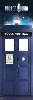 """Doctor Who Door Poster """"brand New"""" Phone Booth """"1 Meter Tall"""" Tardis"""