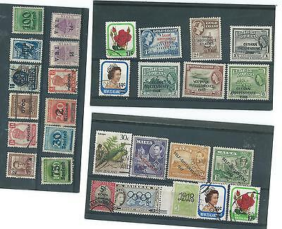 World Mint/used Overprinted Stamp Collection