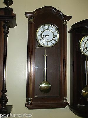 Wall Clock Hermle  Westminster Chime 8Day With Chime/ Silent I Year Warranty
