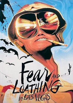 Fear and Loathing IN LAS VEGAS Poster JOHNNY DEPP large size 61 cm X 91.5 cm