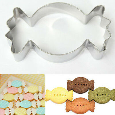 Stainless Steel Biscuit Cookie Candy Fondant Mold Mould Cutter Cake Decor