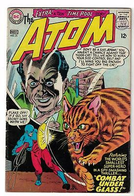 DC Comic ATOM Silver age  #21 VG+  superman 1966