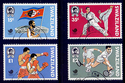 SWAZILAND 1988 stamps Olympic Games Seoul fine used (CTO)