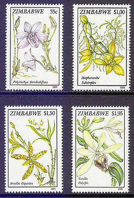 ZIMBABWE 1993 stamps Orchids Flowers um (NH) mint