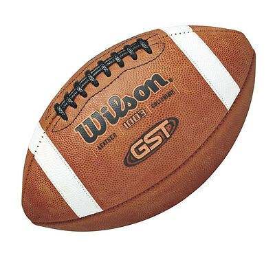 WILSON GST NCAA Authentic Leather Game American football