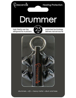 CRESCENDO DM Drummers 25 Ear Protection Hörschutz
