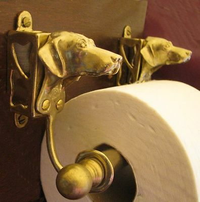 VIZSLA Bronze Toilet Paper Holder OR Paper Towel Holder!