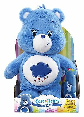 Care Bear & Cousins Grumpy Bear With DVD Plush Soft Toy