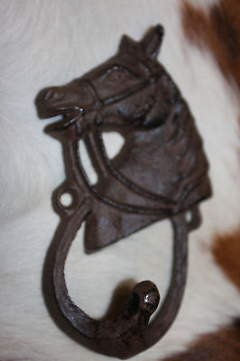(4)WESTERN WALL HOOK,ranch decor,horse,country decor,garden deco,equestrian,W-8
