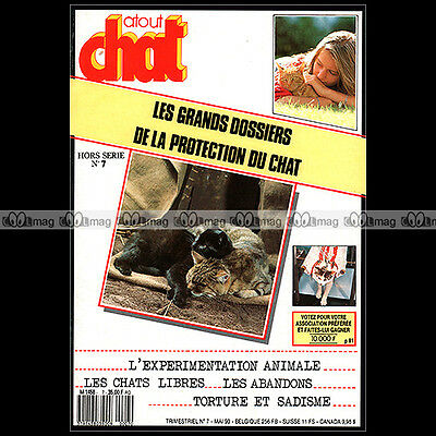 Atout Chat Hs 7 ★ Protection Du Chat 1990 ★ Experimentation / Torture / Sadisme
