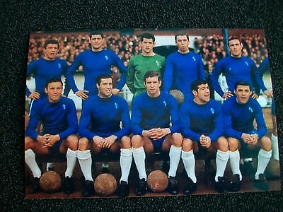 """CHELSEA TEAM 1960s   10 players 6""""x4"""" REPRINT POST FREE"""