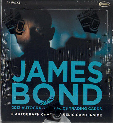 James BOND Autographs and Relics 2013 -   One (1) Sealed Box   by Rittenhouse