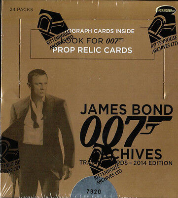 James BOND Archives 2014 -   One (1) Sealed Box   by Rittenhouse