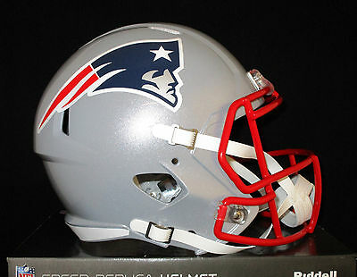 NEW ENGLAND PATRIOTS Officially Licensed FULL SIZE REPLICA SPEED Helmet