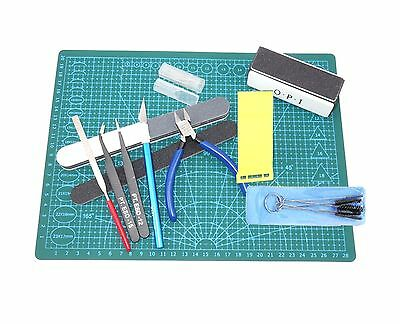 New Complete Sander Pad Model Sculpture Assembling Paint Modeling Tools Sets AW1