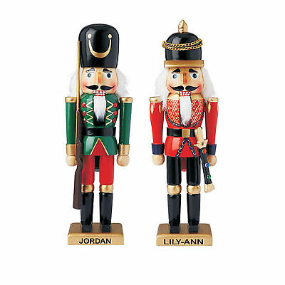 Personalised Christmas Nutcracker Soldier, Wooden Guard, Ballet Xmas Gift, 32cms