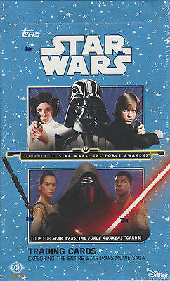 2015 Topps Star Wars The Force Awakens Series 1 Trading Card Box - Hobby Version