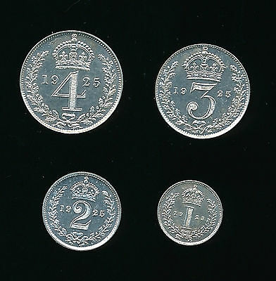 1925 George V MAUNDY SET...SUPERB....UK Seller - Fast Post