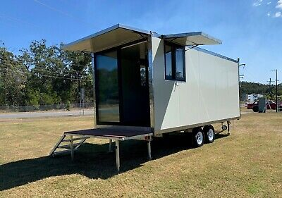 5.9m Mobile Cabin Granny Flat Container Studio Tiny House Office Relocatable