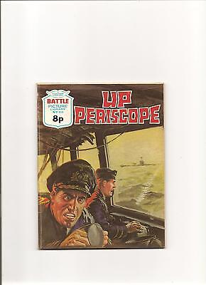 """BATTLE PICTURE LIBRARY No.856 """"UP PERISCOPE"""" 1974 ISSUE"""