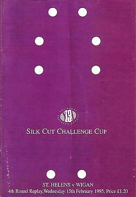 St Helens v Wigan - Challenge Cup Replay - 1994/95