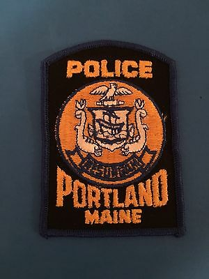 Portland  Maine  Police Shoulder Patch