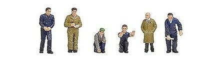 Bachmann Branchline OO Scale (1/76) # 36-403 Factory Workers & Foreman
